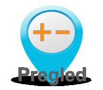Klik - pregled možnosti naročanja na okulistični pregled ter predpis očal ali kontaktnih leč na napotnico ali samoplačniško.