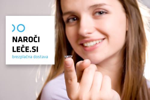 Za spletno naročanje kontaktnih leč priporočamo Naroči-leče.si