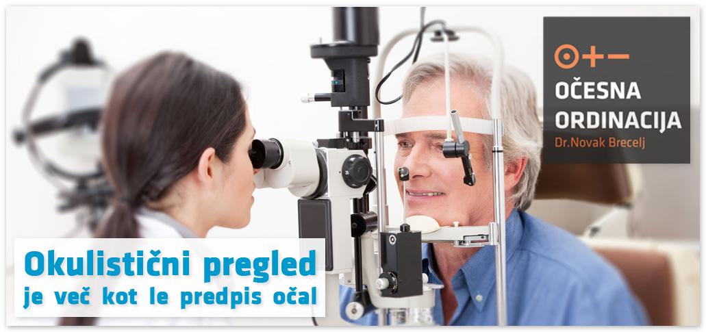 Pregled pri okulistu je več kot le predpis očal.